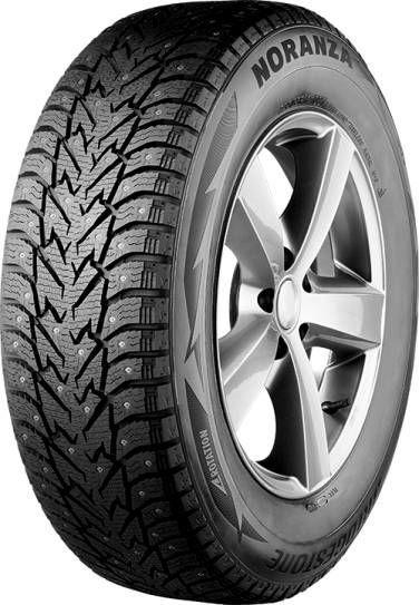 Зимняя шина Bridgestone Noranza SUV001, 235/60 Р18 107 T XL, шипованная