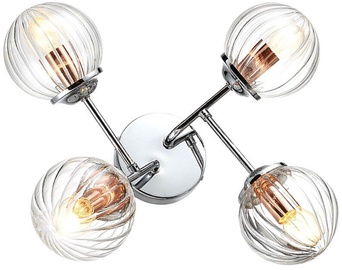 Candellux Best 40W E14 Ceiling Lamp Chrome/Copper