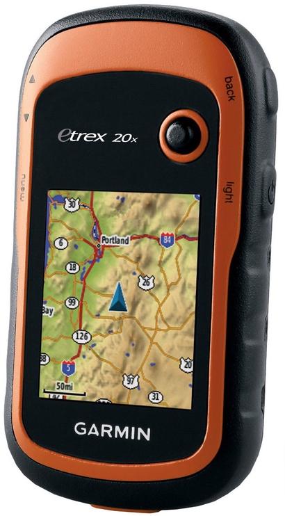 Garmin eTrex 20 X Orange/Black