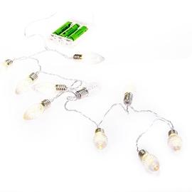 Электрическая гирлянда DecoKing Ruffi Crystal Cone LED, 10 шт.