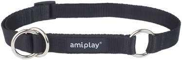 Ошейник Amiplay Basic, черный, 350 - 500 мм x 20 мм