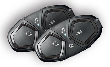 Interphone Active Motorcycle Intercom Twin Pack