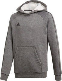 Adidas Core 18 Hoodie JR CV3429 Grey 164cm