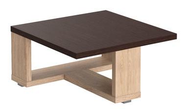 Kafijas galdiņš Skyland ST 884 Wenge Magic/Devon Oak, 800x800x400 mm