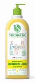 Средство для мытья посуды SYNERGETIC с ароматом лимона, 1 л
