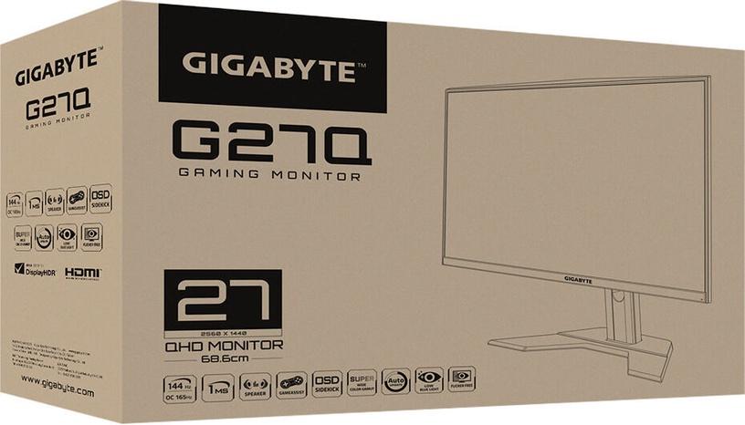 """Monitors Gigabyte G27Q, 27"""", 1 ms"""