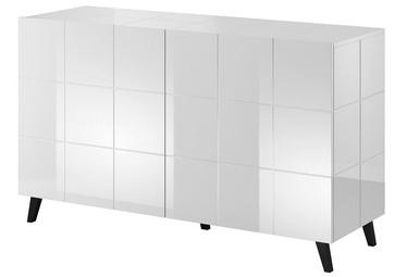 Комод Cama Meble Reja 2D, белый, 138x45x80 см