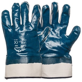 Monte Gloves With Full Nitrile Coating 11 Blue