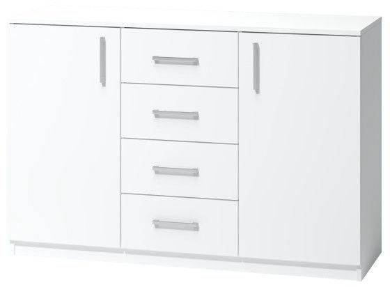 Комод WIPMEB Tatris 03, белый, 120x40x80 см
