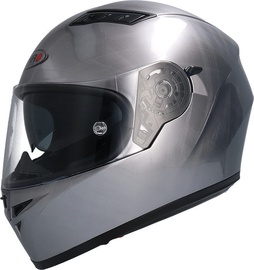 Shiro Helmet SH-600 Scratched Chrome M
