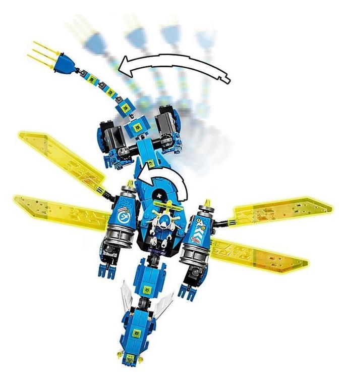 Конструктор LEGO®Ninjago 71711 Кибердракон Джея