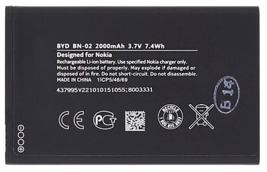 Nokia Original Battery For Nokia XL Li-Ion 2000mAh