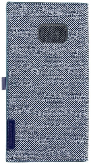 Mercury Milano Book Case For Samsung Galaxy S8 Plus Blue