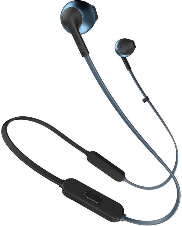 Наушники JBL Tune T205BT Blue, беспроводные
