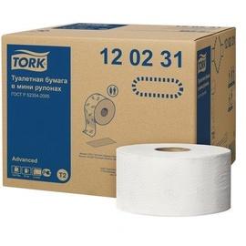 Tork Advanced Toilet Roll T2 12pcs White