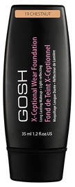 Tonizējošais krēms GOSH X-Ceptional Wear Foundation Chestnut, 35 ml