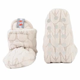 Шлепанцы Lodger Empire Fleece, белый, 6-12 месяцев, 2 шт.