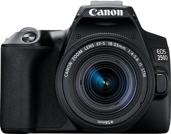 Canon EOS 250D + 18-55mm IS STM Kit Black