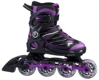 Skrituļslidas Fila Wizy Alu Girl Black/Purple, 32-35