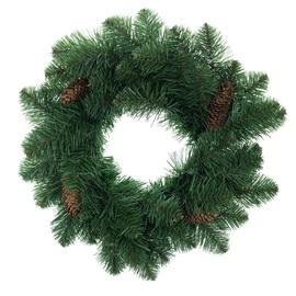 DecoKing Pola Pine Christmas Wreath 50cm Pine Cone