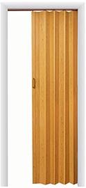 Plastmasas starpsienas Plastic Foldable Doors Eco 91x203cm Beech