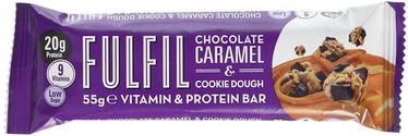 Fulfil Vitamin & Protein Bar Chocolate Caramel & Cookie Dough 55g