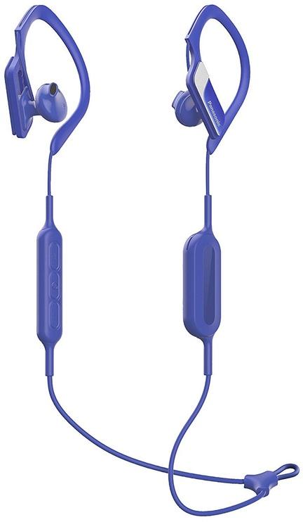 Austiņas Panasonic RP-BTS10E Blue, bezvadu