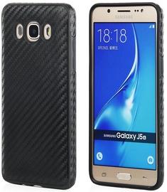 Qult Luxury Carbon Back Case For Samsung A7 A720 Black