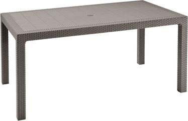 Dārza galds Keter Melody, smilškrāsas, 160 x 94 x 74 cm