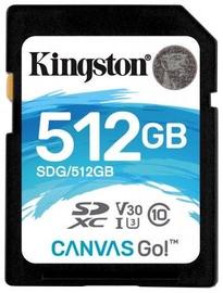 Kingston SDXC Canvas Go 512GB