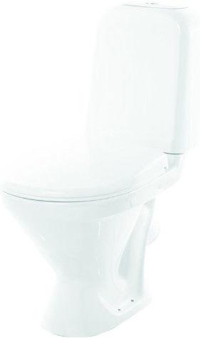 Туалет SANITA Comfort PlusDuroplast Soft Close White, 350x640 mm