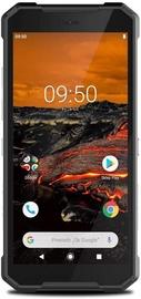 Mobilais telefons MyPhone Hammer Explorer, melna/oranža, 3GB/32GB