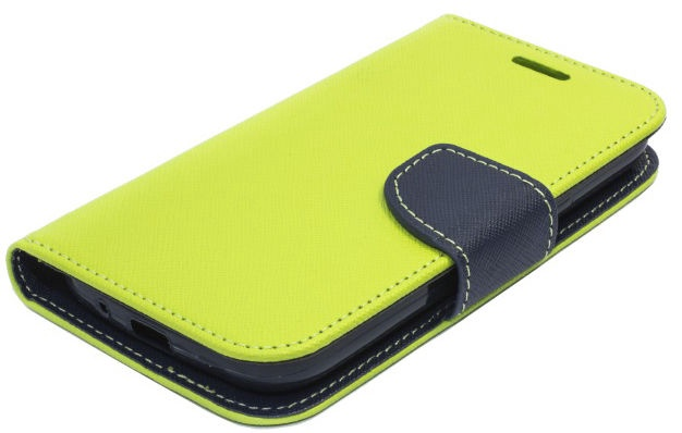 Telone Fancy Diary Bookstand Case Sony Xperia M2 Light Green/Blue