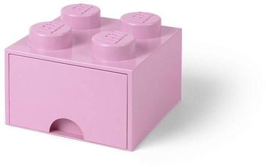 Room Copenhagen LEGO Brick Drawer 4 Light Pink