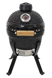 Grills keramisk. Kamado Bono Picnic 33cm, black