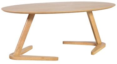 Kafijas galdiņš Home4you Lana Oak, 1200x600x450 mm