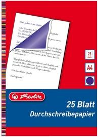 Kopēšanas papīrs Herlitz Carbon Paper, a4, 25 gab.