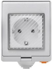 Viedā kontaktligzda Sonoff S55, 3500W, 230VAC, IP55
