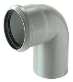 Kanalizācijas caurules 67° līkums Magnaplast HTplus D75mm, PP