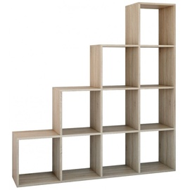 Полка Top E Shop Step RS-40, дубовый, 153x30x153 см