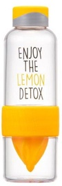 Lock & Lock ABF659 Detox Bottle 520ml Yellow