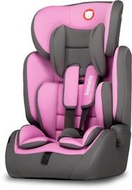 Mašīnas sēdeklis Lionelo Levi Simple, rozā, 9 - 36 kg
