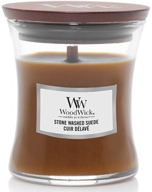 WoodWick Stone Washed Suede Candle 85g