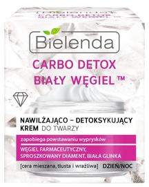 Sejas krēms Bielenda Carbo Detox White Carbon Face Cream, 50 ml