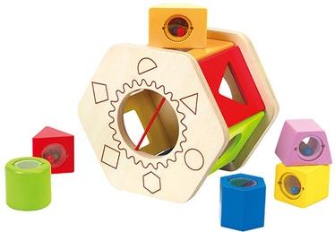 Izglītojošās rotaļlietas Hape Match Shape Sorter E0407