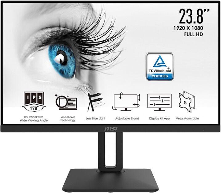 """Monitors MSI MP242P, 23.8"""", 5 ms"""