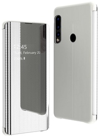 Hurtel Flip View Cover For Huawei P30 Lite Silver