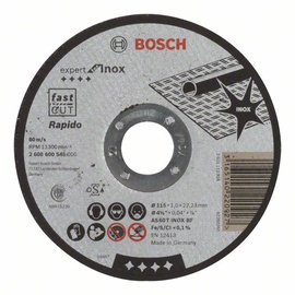 Bosch Abrasive Cutting Disc 115x22x1mm