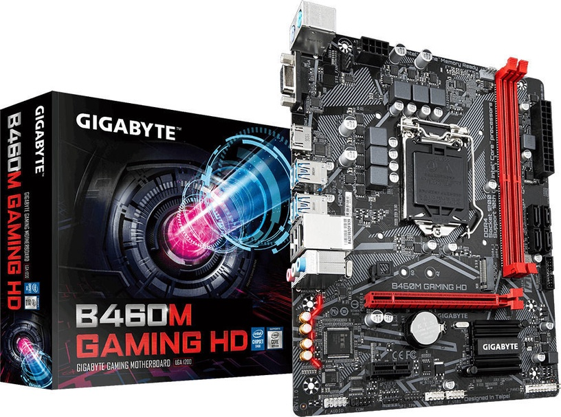 Mātesplate B460M Gaming HD