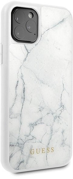 Guess Marble Back Case For Apple iPhone 11 Pro White